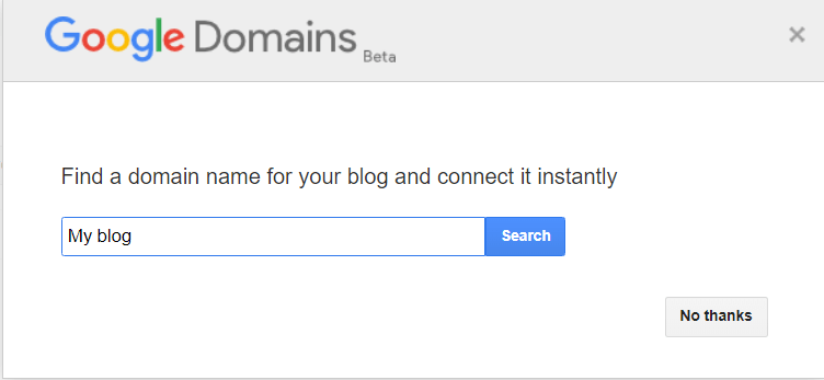 google custom domains